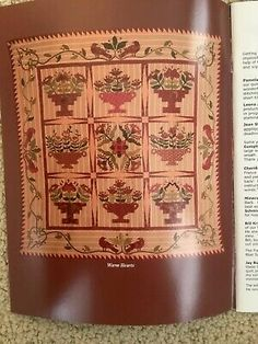 Cross Stitch Sampler Patterns, Cross Stitch Samplers, Quilt Patterns, Hard To Find Books, Blackbird Designs, Winter Quilts, Small Quilts, Decorative Boxes, Hearts