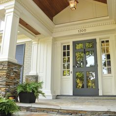 Front Doors With Storm Door one of the prettiest front entries i've ever seen! love those