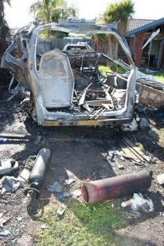 Workplace safety - leaking gas cylinder causes a van to explode