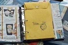 Coupon Organizer: un cartable, des enveloppes (une par catégorie).