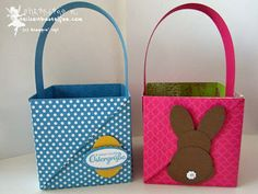 stampin up, easter basket, osterkörbchen, punch art bunny hase, hasenparade, everybunny