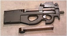 Subfusil P90-Loading that magazine is a pain! Get your Magazine speedloader today! http://www.amazon.com/shops/raeind