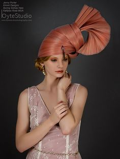 Haute Couture Headpiece Jinsin Headpiece Kentucky by BoringSidney
