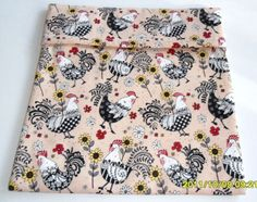 Rooster N Flowers Microwave Baking Potato Bag by SusiesUniqueChic, $6.00