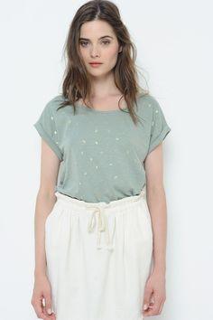 Tee shirt Manches Courtes Sonate Jardin - T-shirt - Des Petits Hauts 1