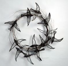 Bird-Sculptures-made-from-Wire-by-Celia-Smith-18
