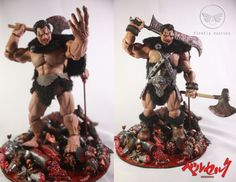 berserk Zodd (Berserk) Custom Action Figure