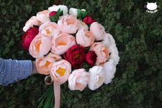 1186 Buchet extralarge bujori crepe Paper Flowers, Floral Wreath, Wreaths, Rose, Plants, Home Decor, Pink, Decoration Home, Room Decor
