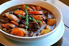 Italian Slow Cooker Beef Stew #ChefJimmyBoswell