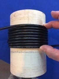 RF choke coil length on PVC tube Dipole Antenna, Ham Radio Antenna, Pvc Tube, Audio Amplifier, Emergency Preparedness, Lima, Magic Wands, Electronics, Transformers