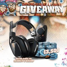 Enter This Astro A40s + Mixamp & 13,500 Fortnite V-Bucks Giveaway!