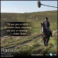 #PoldarkPBS behind the scenes details from @AidanTurner, in an exclusive with @masterpiecepbs: http://to.pbs.org/1HewLlr