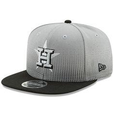 5af54135877 Houston Astros New Era Flow Team 9FIFTY Adjustable Snapback Hat - Gray Black