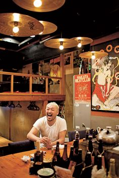 Looking forward to sake, sushi & udon in a local izakaya (place of food & drink) a such as Izakaya Tatemichiya, Tokyo