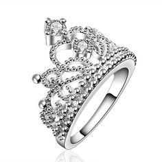 Stella /& Dot Midnight Blossom Ring Taille 6-7