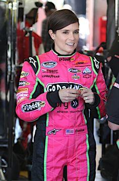 Danica Patrick in pink.