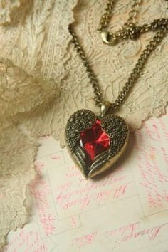 One of my favorites--a Heaven's Heart necklace!