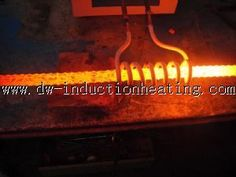 induction annealing steel line