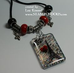 (th)INK Positive: Resin-ating with EnviroTex Jewelry Resin and Stampendous!