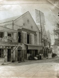 Cave, Shepherd & Co, Palmetto Street, Bridgetown, Barbados, ca 1906 | by The Caribbean Photo Archive