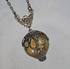 Up, Up and Away - Hot Air Balloon Pendant $38