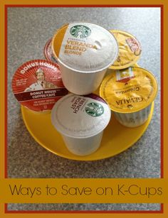 8 Ways to Save on K-Cups. Single cup brewing machines such as the Kuerig coffee maker have made it easier than ever to enjoy a tasty cup of coffee in just seconds flat. But you may have noticed that this convenience comes at a price. A 12 pack of k-cups can run as high as $15 each, breaking down to more than $1 per k-cup.  This can make you cringe and want to skip your favorite hot beverages all together, but the great news is, you don't have to.