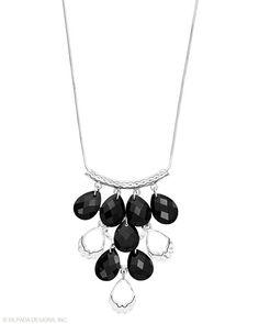 All on Black Necklace, Necklaces - Silpada Designs