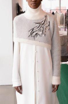 Knitwear Fashion, Knit Fashion, Sweater Fashion, Runway Fashion, Womens Fashion, Fall Fashion, New York Fashion, World Of Fashion, Fall Sweaters