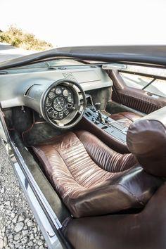 1972 Maserati Boomerang Concept