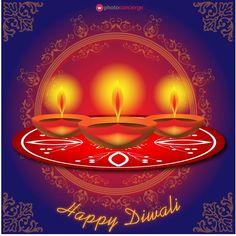 #PhotoConcierge wishes everyone a very Happy #Diwali!  #Illustration #Diwali2015