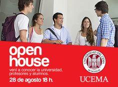 Open House #UCEMA -  Entrada libre y gratuita http://quevasaestudiar.com/estudiar-en-Universidad-del-CEMA-44