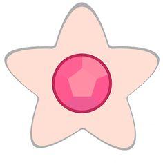 Rose Quartz crystal - Steven Universe