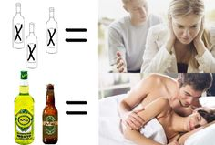 For Girls, You want your soul-mate to be aware about the effect of the alcohol? Just tell him about the negative effects in his sexual life, and that you don't want him to suffer the consequences! Negative Effects Of Alcohol, Beverages, Drinks, Social Media, Learning, Bottle, Girls, Create, Couples