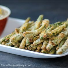 Crispy Baked Green Bean Fries for #AppetizerWeek and a #Savorx Giveaway! «Dizzy Busy and Hungry!