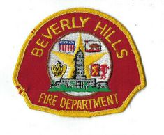 Beverly Hills (Los Angeles County) CA California Fire Dept. Los Angeles County, Los Angeles California, Fire Dept, Fire Department, Annapolis Naval Academy, Baywatch Hawaii, Nevada Test Site, Yosemite California, Patches For Sale