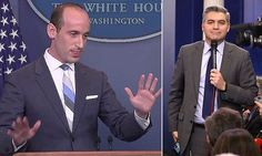 White House aide's extraordinary row with CNN's Jim Acosta   Daily Mail Online