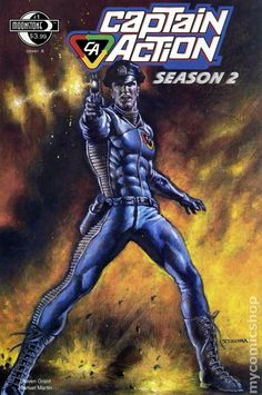 captain action comic book covers - Google Search