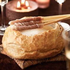 Découvrez la recette Fondue savoyarde au champagne sur cuisineactuelle.fr.