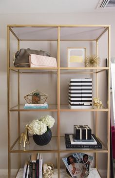 6 Bookshelf Styles that are Great for Trinkets