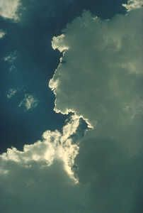 Cloud face 2