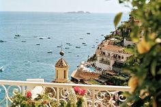 Positano, on Italy's Amalfi Coast