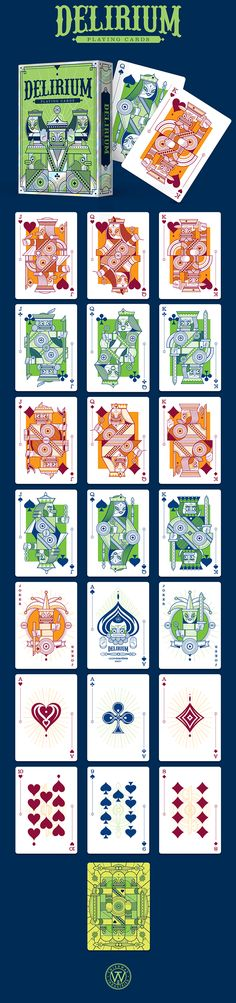 Delirium Playing Cards on Behance
