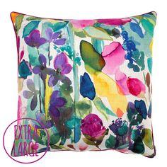 Grande Mode Floor Cushion from Bluebellgray.com. A Scottish textile design company.