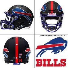 Check out all our Buffalo Bills merchandise! New Nfl Helmets, Cool Football Helmets, Football Helmet Design, Sports Helmet, Football Stuff, 32 Nfl Teams, Nfl Football Players, Dallas Cowboys Football, Football Uniforms