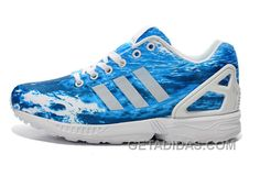 timeless design 060a1 90653 Soldes Nous Sommes Boutique En Ligne Femme Homme Adidas Originals ZX Flux  Sea Bleu Blanche Soldes Online KjtmtWG, Price   70.00 - Adidas Shoes,Adidas  Nmd ...
