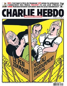 Proud to Offend, Charlie Hebdo Carries Torch of Political Provocation Le Pen, Learn Art, Freedom Of Speech, Satire, Check It Out, Politics, Comics, Magazines, Journal