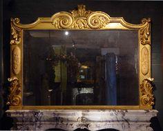 Antique carved Giltwood Regency Mirror