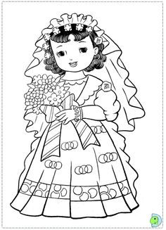 doll coloring sheets coloring page