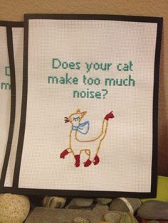 Kitten Mittens Its Always Sunny embroidery - OH MY GOODNESS! YES!!!