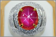 Code : RBS 227 Elegant Burmese Sharp Star Red RUBY  Weight : 7.7 ct Size : 12.1 x 9.6 x 6.3 mm